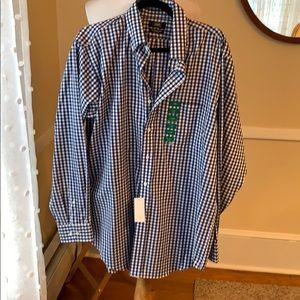 NWT Berkeley Jensen Large Wrinkle Free Shirt